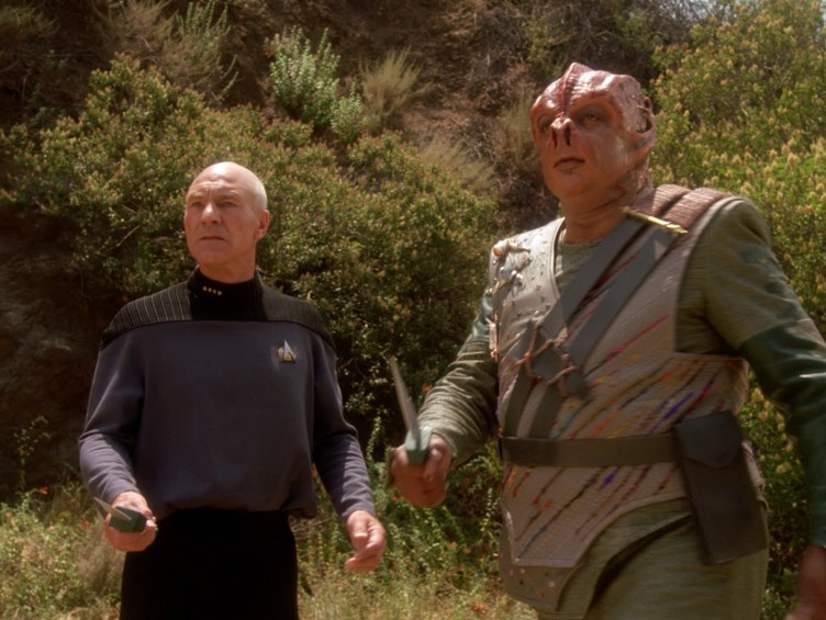 Picard and Dathon