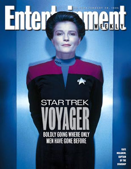 Janeway on Entertainment Weekly Cover