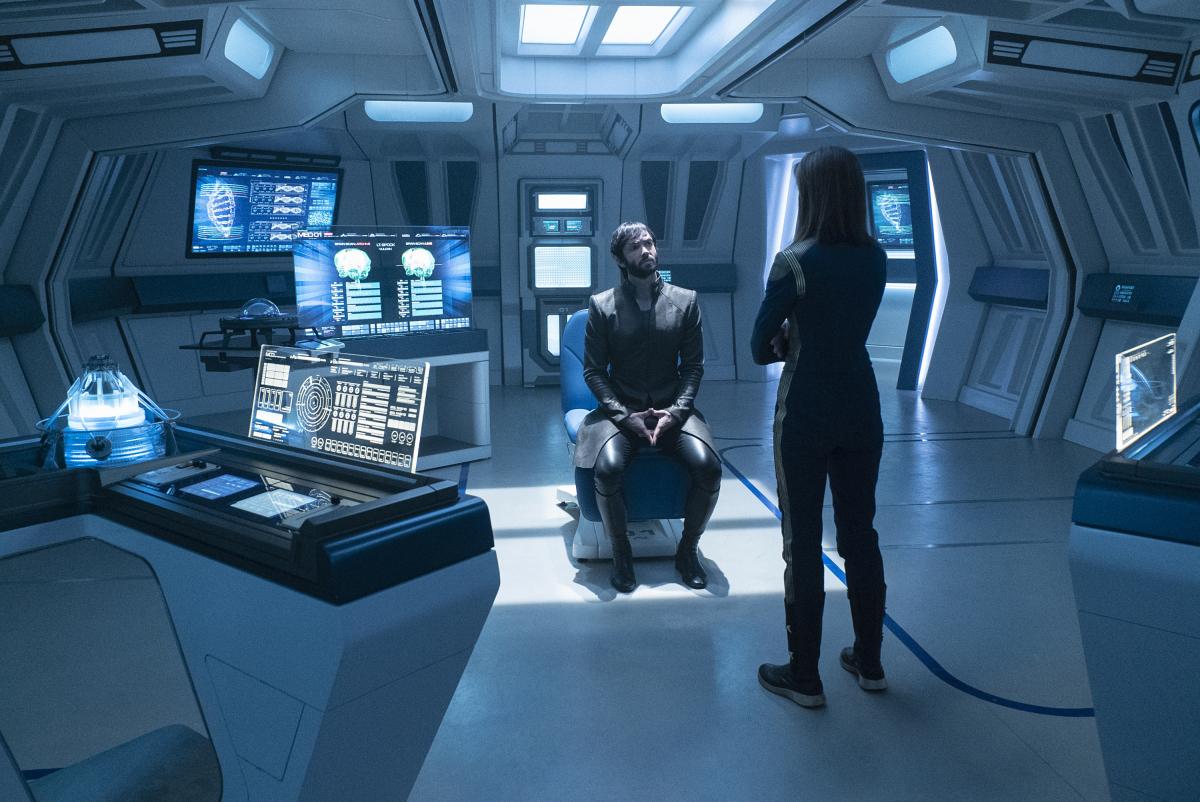 Discovery Recap Project Daedalus Season 2 Episode 9 Women At Warp