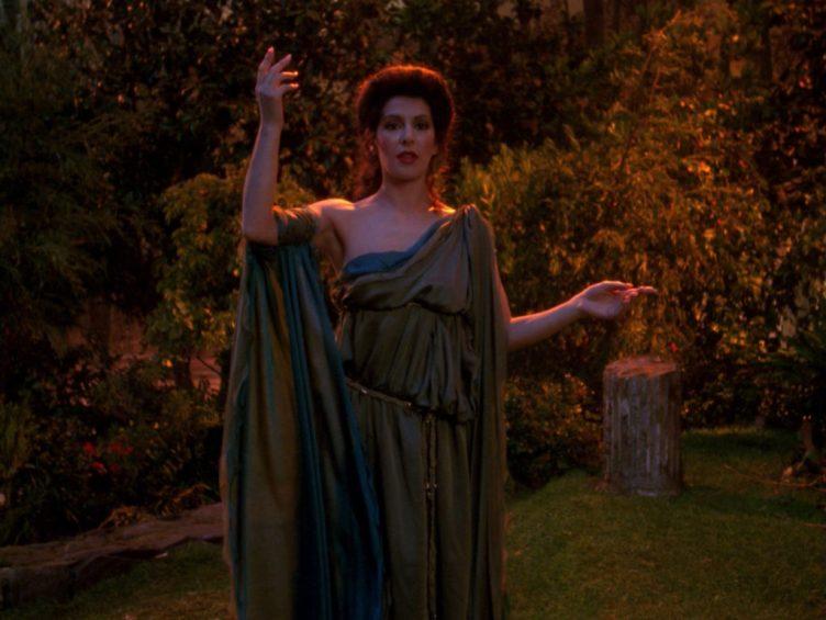 Troi as the Goddess of Empathy
