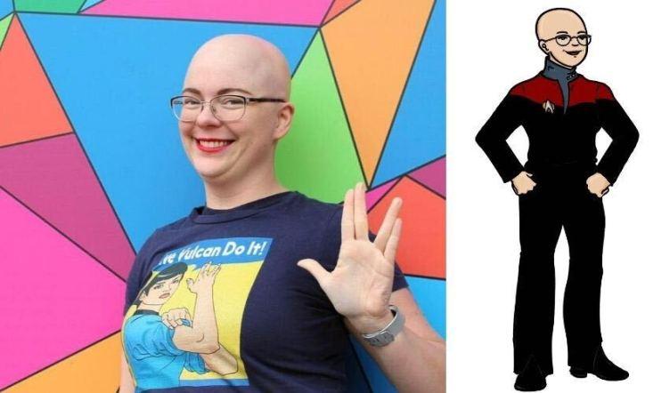 Jarrah photo next to Trek avatar
