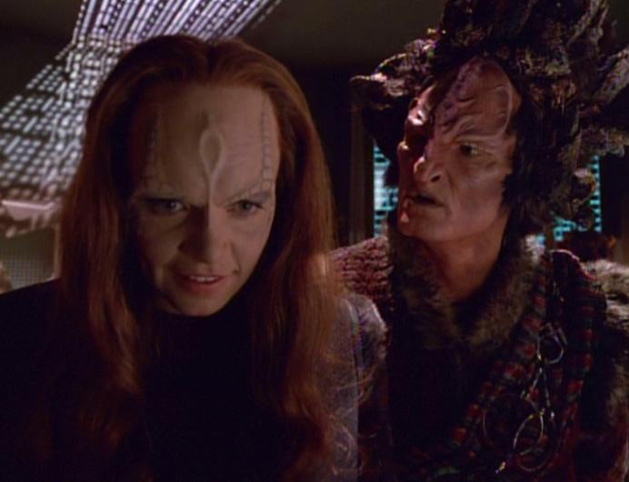 Seska and Culluh on his ship