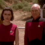 "Picard and Ro in ""Ensign Ro"""