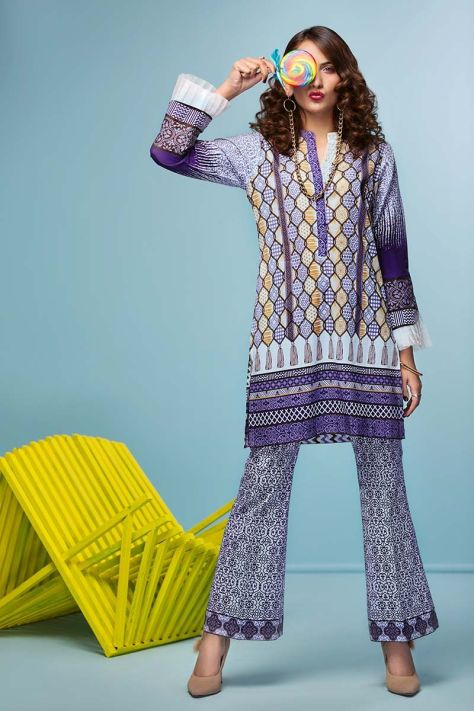 Gul Ahmed Cambric Collection 2018-19 Pre Fall Catalogue