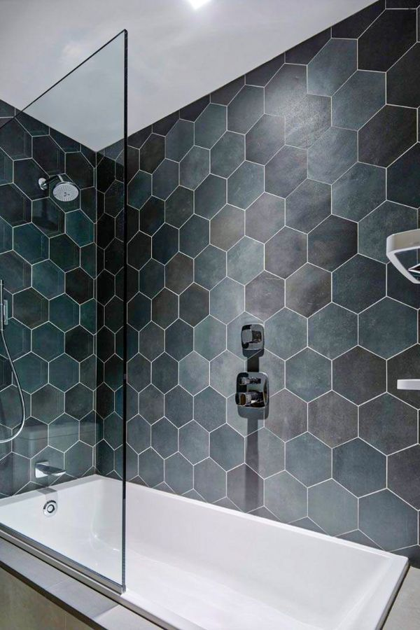 55+ Great grey bathroom tiles design ideas for 2021 - Page ...