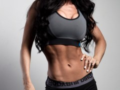 Personal Trainer Fitness Model Amber Dawn Orton Provides