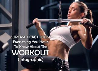 SUPERSET FACT SHEET Everything You Have To Know About The Workout (Infographic), about exercise, facts about exercise benefits, ab exercise, how to start working out for beginners, how to start working out at home, what is exercise, about yoga, what is fitness,