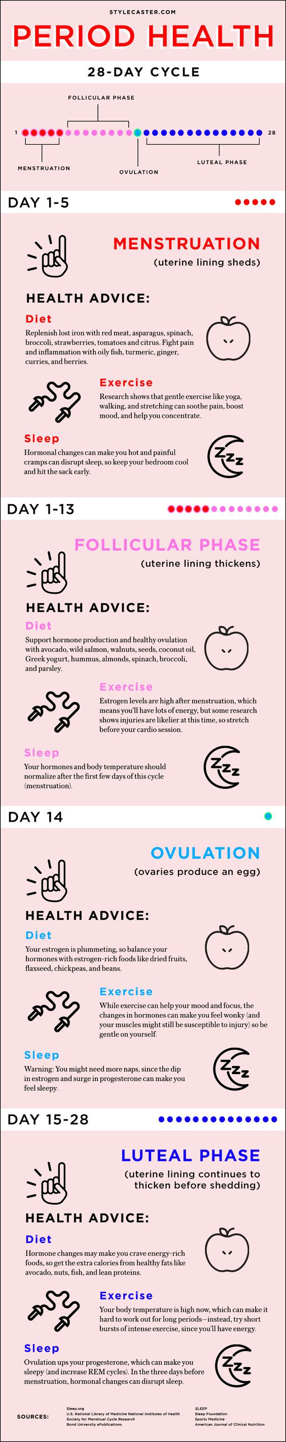 Facts About Menstruation