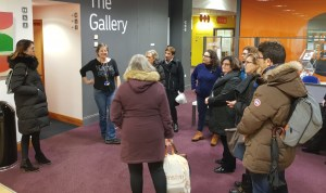 'Women in Power' visits the Sheffield Association for Voluntary Teaching of English