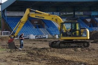 Levelling off the pitch
