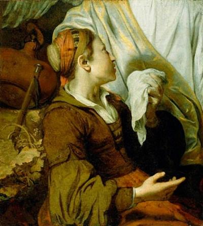 weeping hagar painting image