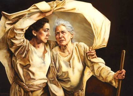 RUTH in the BIBLE. Naomi & Ruth fight to survive. Ruth finds true love.