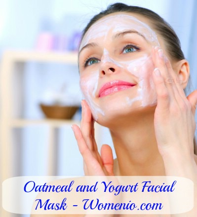 yogurt outmeal facial mask recipe