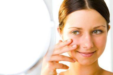 woman healthy skin