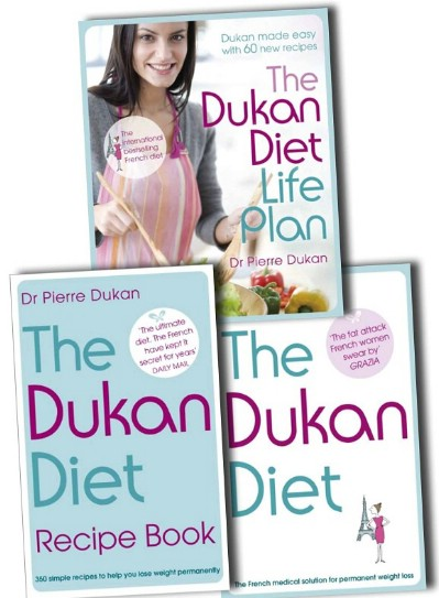 Cover collection of Dr Dukan 3 successful dieting book