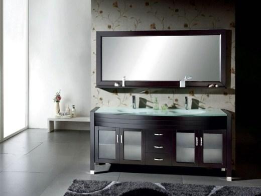 Palm solid bathroom vanity