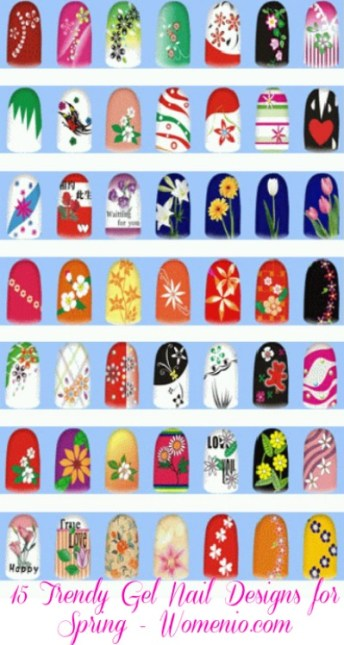 Cover picture for 15 nail designs post