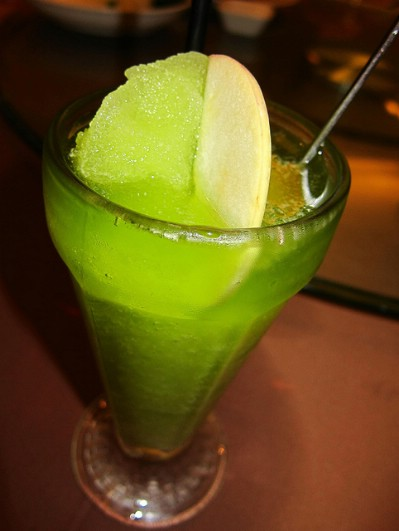Apple kiwi smoothie