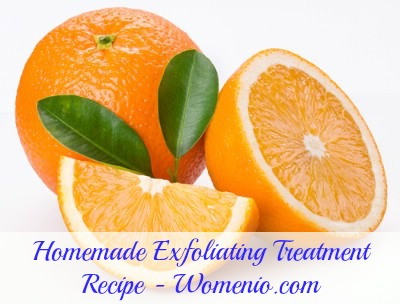 Homemade exfoliating treatment recipe