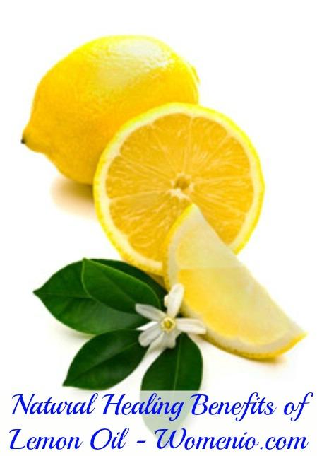 Lemon oil natural benefits