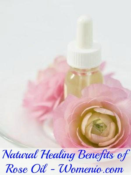 Rose oil healing benefits