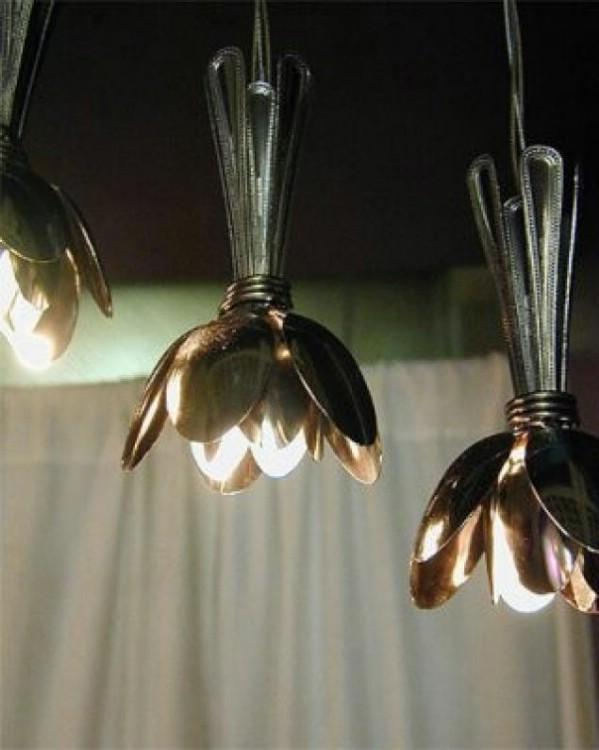 Spoon light fixtures