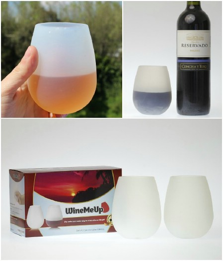 Silicone Wine Glasses