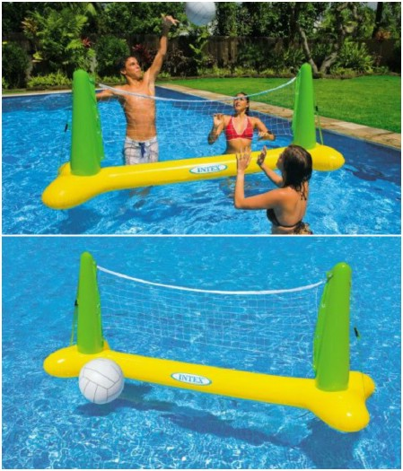 Intex Floating Swimming Pool Volleyball Game
