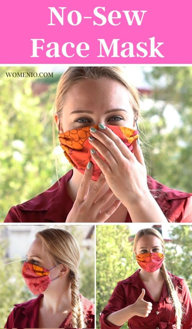 No-Sew DIY Face Mask 2