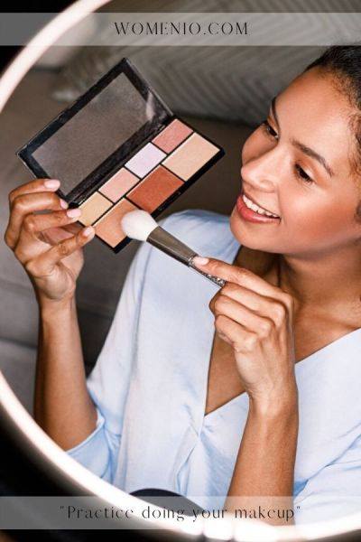 eye makeup practice