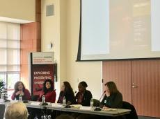 Susan Hodge at the #MeToo panel at the University of Houston