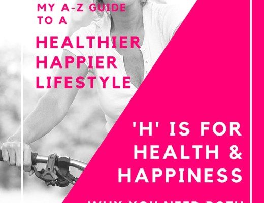 'H' is for health and happiness