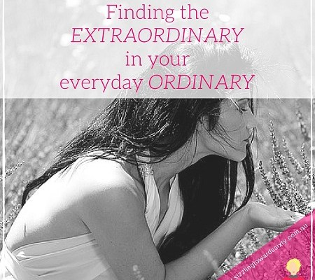 Finding the extraordinary in ordinary