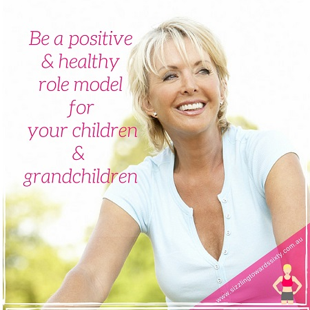 be a positive and healthy role model
