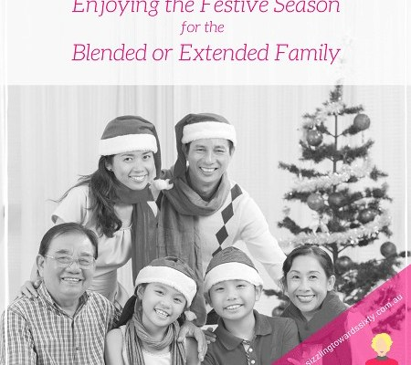 Blended family Christmas