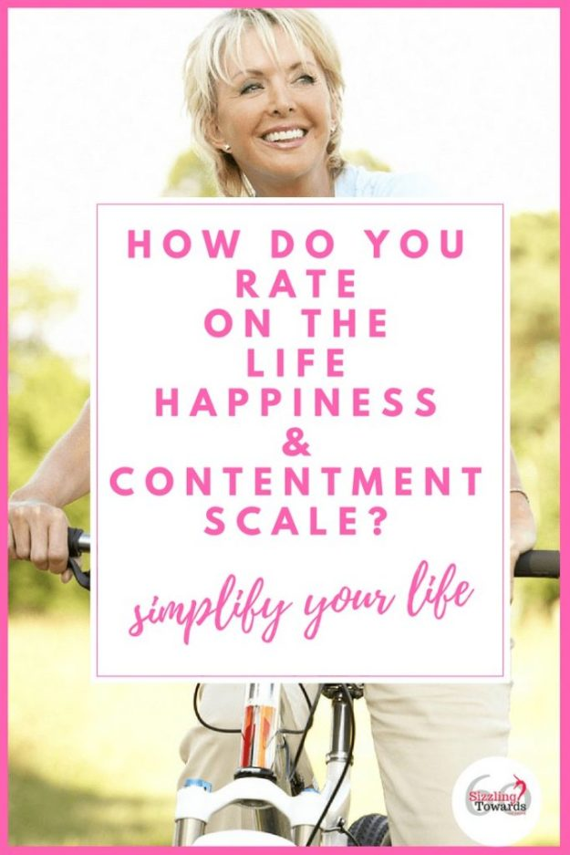 Life happiness and contentment