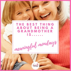 Best thing about being a grandmother