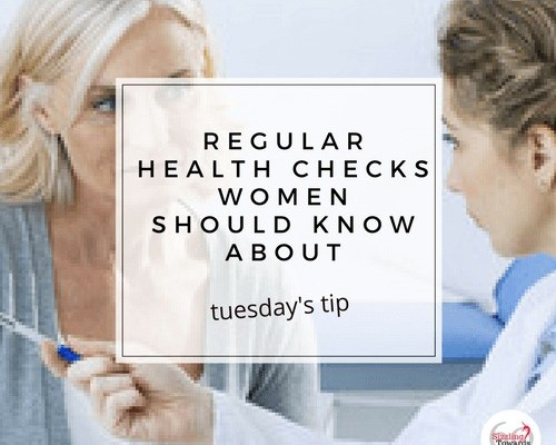 Regular health checks for women