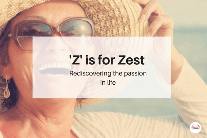 Zest - rediscovering passion in life
