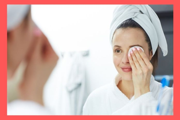 remove a long-wearing makeup