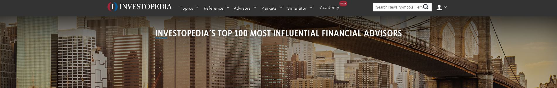 We are excited to share Ann's Recognition by Investopedia.