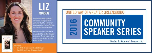 Zuraw Financial Advisors is a Proud Sponsor of The 2016 United Way of Greater Greensboro Community Speaker Series.