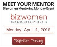 ANN will be one of the MENTORS at this year's BIZWOMEN MENTORING MONDAY EVENTpg7