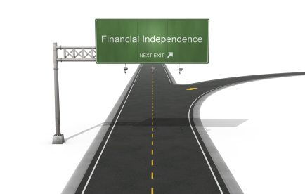 B is for Becoming Financially Independent.