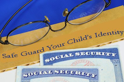 S is for Safe Guard Your Child's Identity
