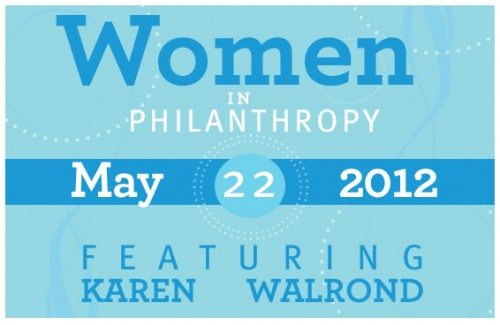 Women in Philanthropy Luncheon May 22nd