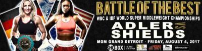 Claressa Shields to Challenge Nikki Adler for her WBC Crown on August 4th in Detroit