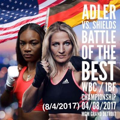 "Nikki Adler: ""America needs to be strong when I take my belts back home to Germany"""