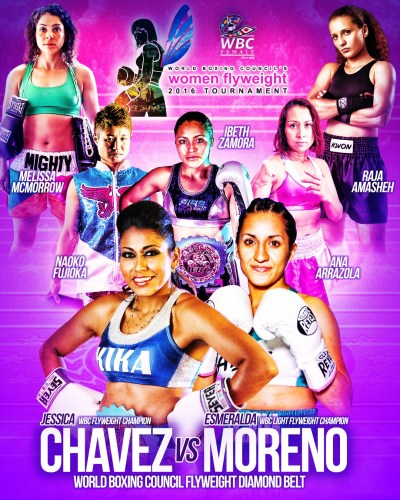 Yessica Chavez Primed for Esmeralda Moreno in the WBC Diamond Belt Final