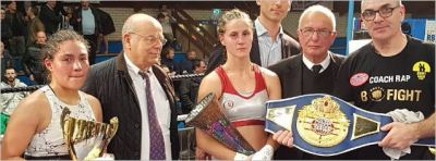 Segolene Lefebvre Retains her WBF Championship by Narrow Points Margin Over Naroyuki Koasicha